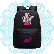 Горячая Распродажа jojo siwa рюкзак для девочек подростков школьная
