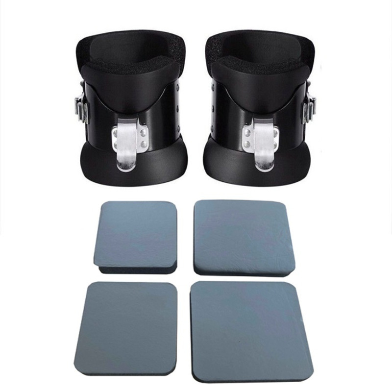 Inversion Gravity Boots With Sponge Cover Ankle Inversion Training Tools Upside Down Equipment Handstand Machine HW277|Accessories|   - AliExpress