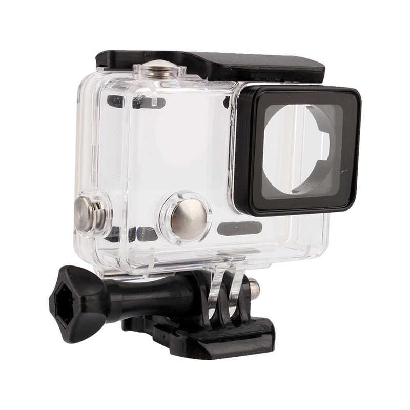 Спортивная камера Go Pro аксессуары водонепроницаемый корпус чехол для Gopro Hero 3 +/4 подводный дайвинг защитный чехол