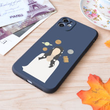 Funda de silicona con estampado de amor, Lana Del Rey, suave, mate, para Apple iPhone