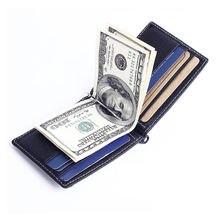 Модный мужской кошелек из натуральной кожи держатель для монет