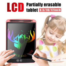 NEW 12'' LCD Writing Tablet Partially Erasing Drawing Board Electronic Thick Pen