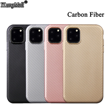 Slim Carbon Fiber Silicone Case For iPhone 11 2019 Coque XI Pro XS MAX XR 7 8 6 Plus Phone Soft Back Cover