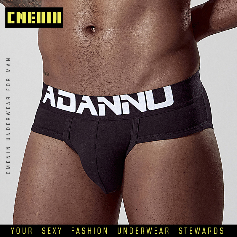 Sexy Men Underwear Cotton Underpants Men Briefs Jockstrap Briefs Man Gay Mens Cuecas Under Wear Men's String Bikini AD127