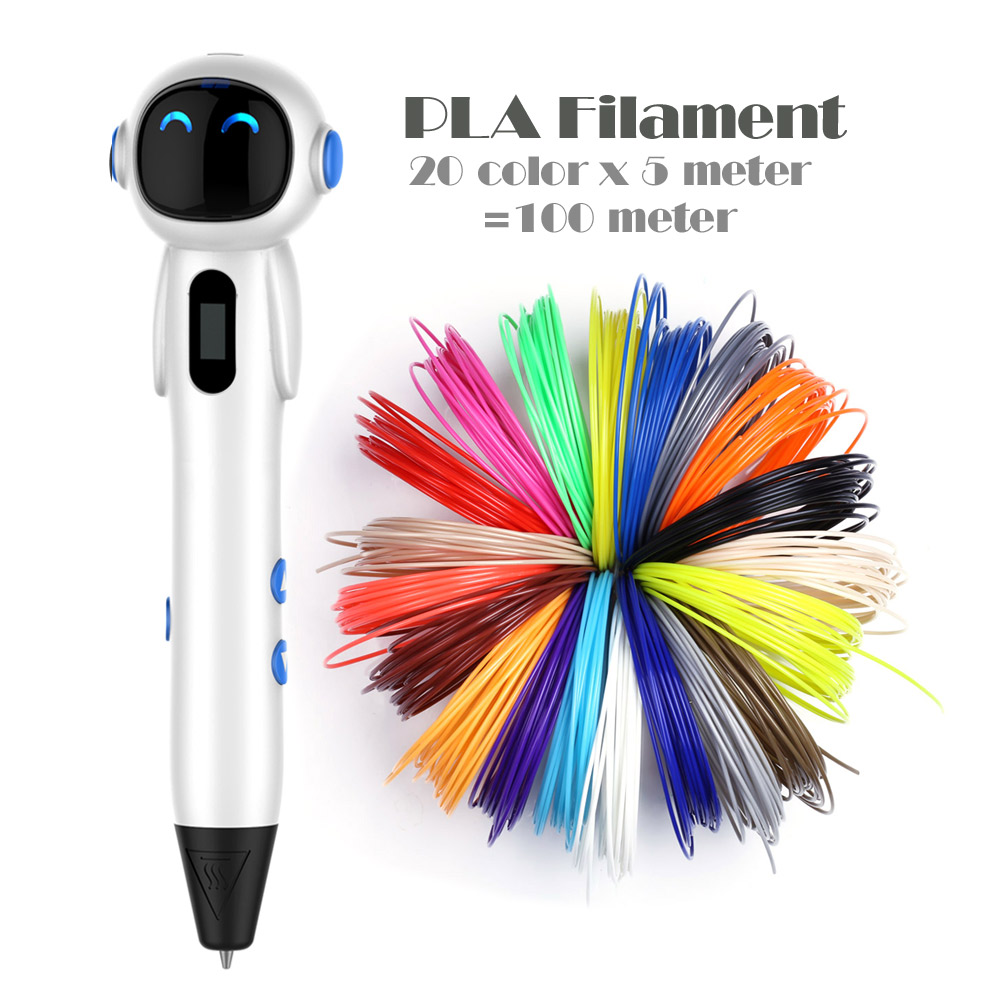 New 3d Pen With USB Cable And Pen Holder for Children Christmas Presents