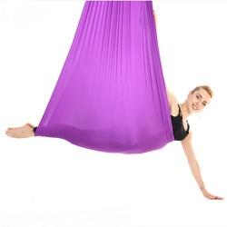 4m Yoga Flying Swing Aerial Yoga Hammock Swing Latest Multifunction Anti-gravity Yoga belts for yoga training Yoga for sporting
