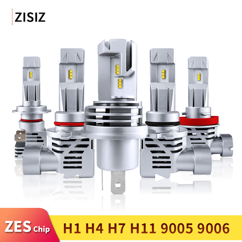 Mini <font><b>LED</b></font> <font><b>H4</b></font> H7 H11 9005 HB4 HB3 9006 H8 H9 ZES Chip Bulb Canbus Car <font><b>Headlight</b></font> 55W <font><b>6000LM</b></font> 6000K <font><b>Led</b></font> Light Fog Lamp 24V automotivo image
