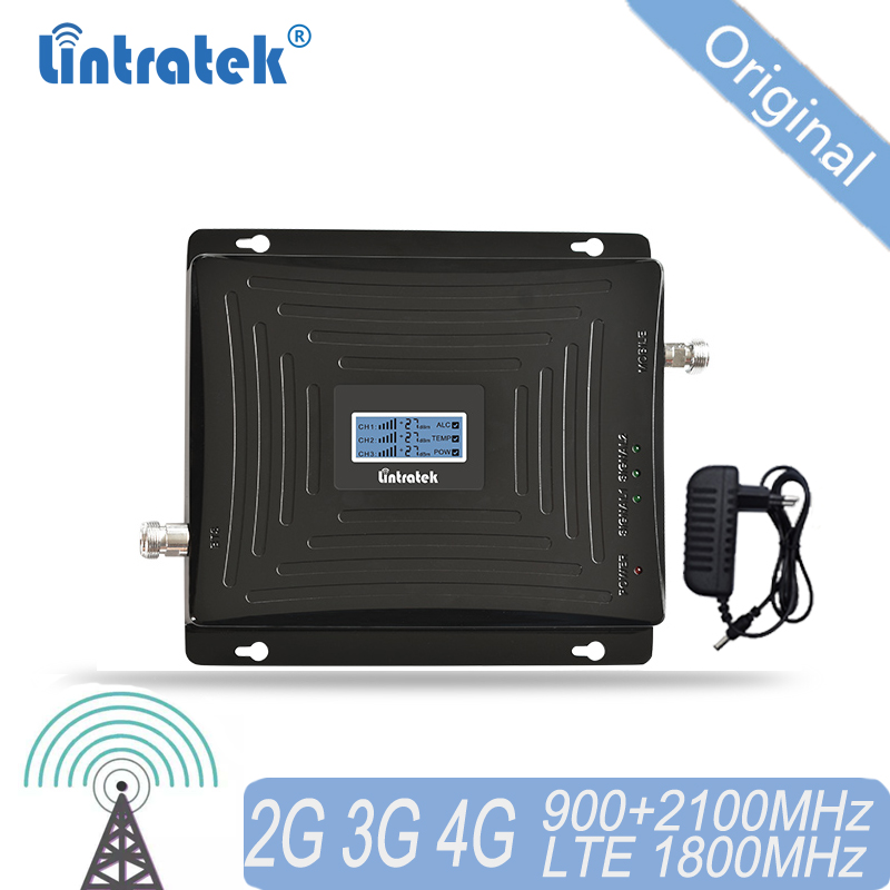 4G 3G 2G Cellular Signal Booster 900 1800 2100 GSM Tri Band Amplifier Mobile Signal Repeater DCS WCDMA 2G 3G 4G LTE Antenna #40