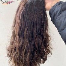 Perruque casher en soie, cheveux européens vierges, pour femmes, avec trame faite à la Machine, commande personnalisée