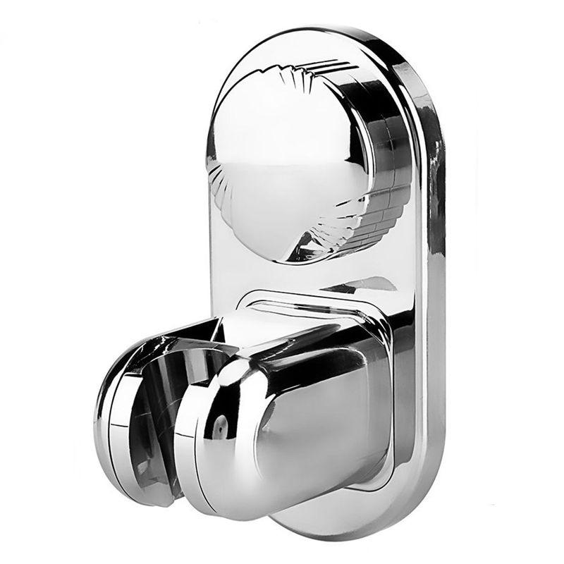 5 Mode Angle Adjustable Shower Head Holder, Super Power Vacuum Suction Cup Handheld Shower Bracket Wall Mount Showerhead Holder
