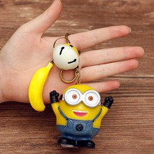 Get more info on the Big Eyes Cute Little Yellow Man Doll Key Chain Bag Hanging Ornaments Cartoon Pendant Decorations Gifts for Christmas gift