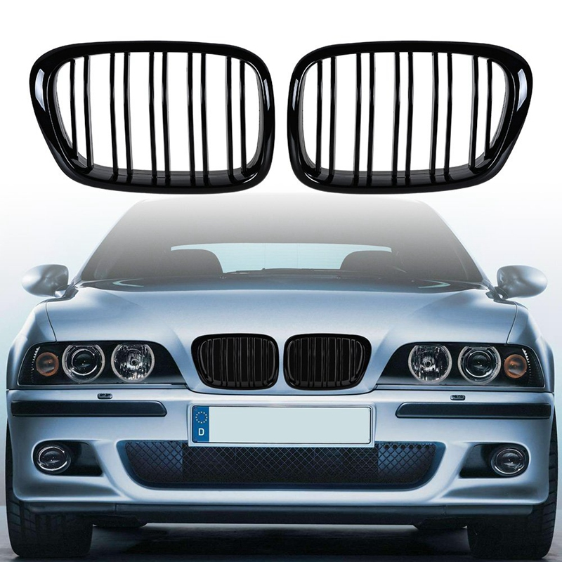 2008 Sport Nieren Doppel-Linie K/ühlergrill vorne E90 E91 325i 328i 335i 2005 Paar