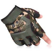 Перчатки на полпальца, военные велосипедные перчатки CS, игровая полурукавица, тактические охотничьи перчатки, для занятий спортом на открытом воздухе, тренировок, фитнеса