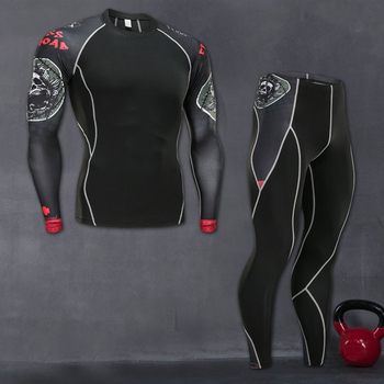 2021 New Compression Tracksuit Fitness Tight Sportswear Running Set T-Shirt Leggings Men's Sportswear Demix Gym Sport Suit demix спортивный топ бра demix размер 42