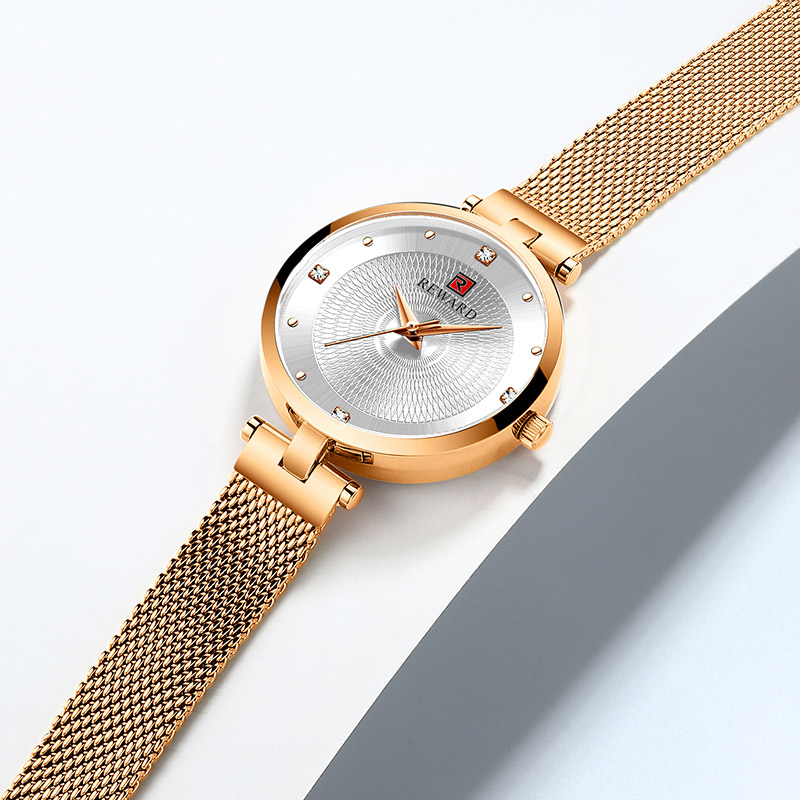 Image 3 - 2019 REWARD Watch Women Luxury Fashion Casual Waterproof Quartz Watches Sport Clock Ladies Elegant Wrist watch Girl Montre Femme-in Women's Watches from Watches