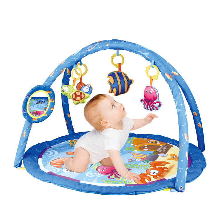 Infants Multi-functional Game Mat 0-3-12 Baby With Pillow Crawl Pad Amazon Cross Border Hot Sales Toy
