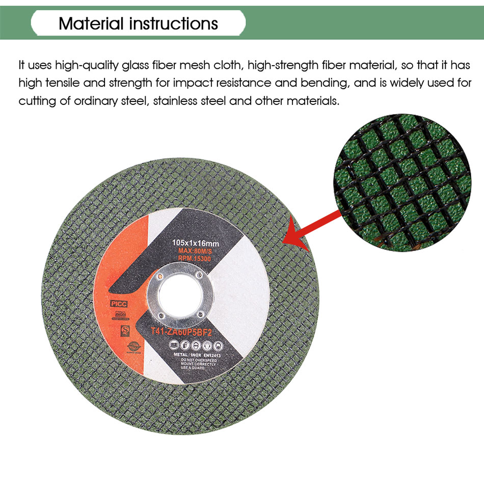 105mm/4'' Saw Blade Resin Cutting Disc Metal Cut Off Wheel For 100mm Angle Resin Grinding Disc Accessories