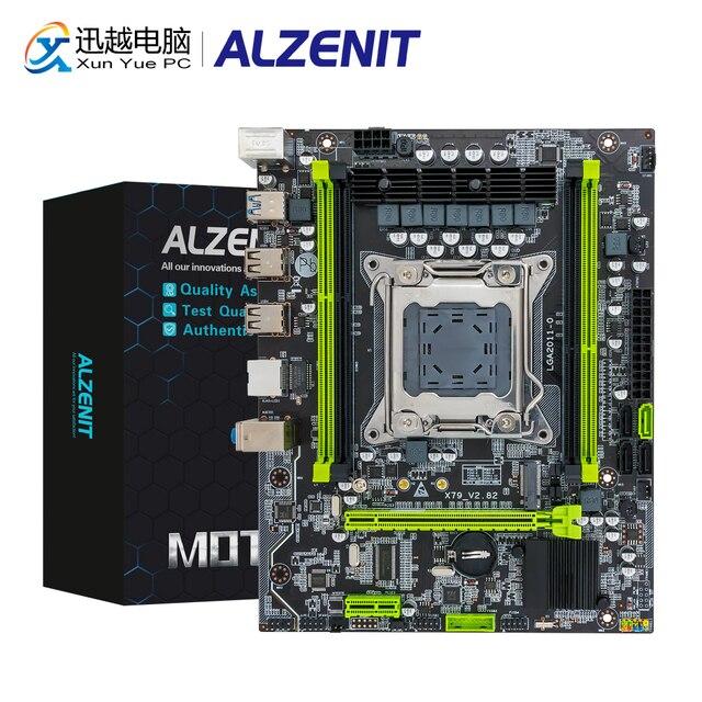 ALZENIT X79M-CE5 Motherboard  Intel C602 X79 LGA 2011 Xeon E5 ECC REG DDR3 128GB M.2 NVME NGFF SATA3.0 USB3.0 Server Mainboard