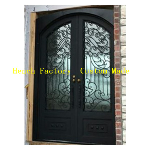 Shanghai Hench Brand China Factory 100% Custom Made Sale Australia Ornamental Iron Doors