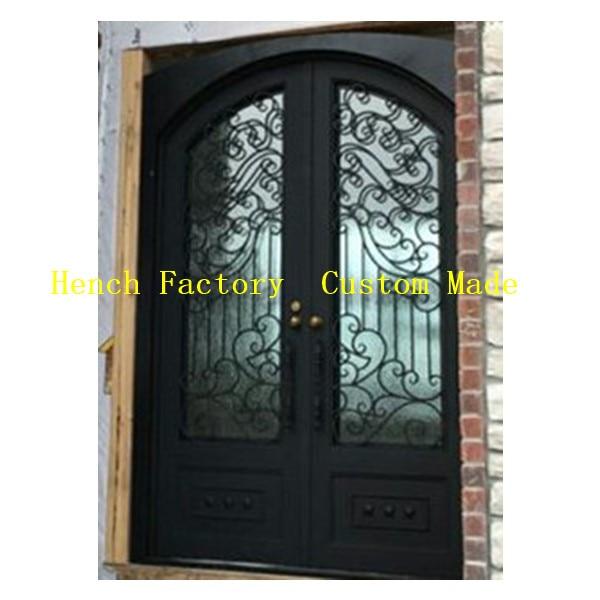 Shanghai Hench Brand China Factory 100% Custom Made Sale Australia Ornamental Iron Doors
