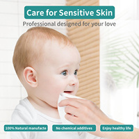 Winner Cotton Tissue Clean Face Makeup Wipes Wet Dry Dual Use Disposable Gentle Face Towelettes for Sensitive Skin Baby Wipes 2