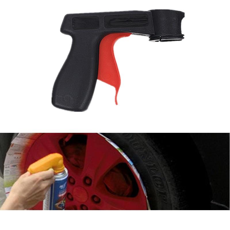 Car Paint Spray Tool Professional Aerosol Spray Gun Handle Adapter Full Grip Handle Trigger Airbrush For Painting Auto Car Paint