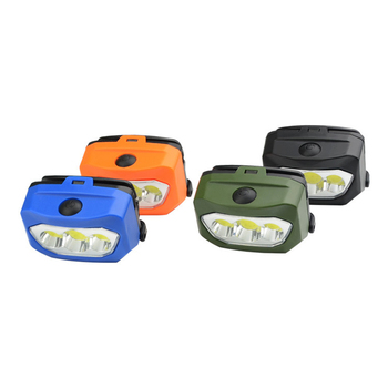XANES BL-933 600LM 3xCOB LED 2 Modes Bike Bicycle Cycling Head Light USB Charging Waterproof Headlamp Motorcycle Torch Lantern image