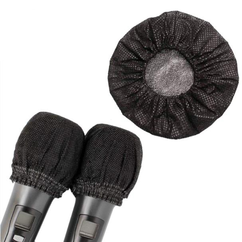 Hot 800 PCS Disposable Microphone Cover, Windsn No-Woven Protection Cover for U-Shaped and O-Shaped Microphone Studio - ANKUX Tech Co., Ltd