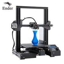 Ender 3 PRO DIY комплект принтер 3D Модернизированный Cmagnet сборка пластина повторное отключение питания печать Creality 3D pritner большой размер печати