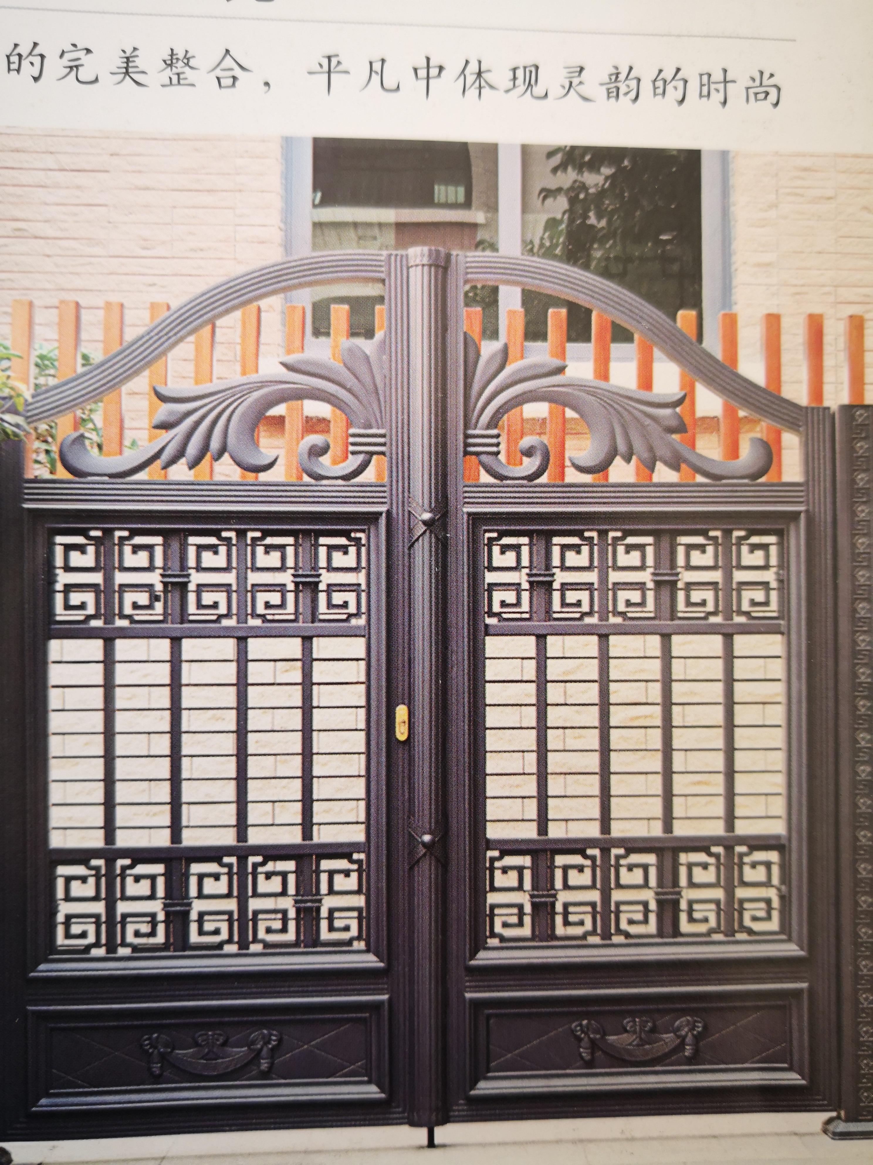 Shanghai Hench  Custom USA Australia Home Use Decorative Aluminium Metal And Composite Gates