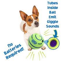 Funny Sound Pet Dogs Playing Ball Wobble Wag Giggle Chewing Ball Puppy Training Ball With Funny Sound Gift Pet Toy Supplies