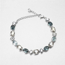 High quality SWA1; 1 Crystal sparkling high-end lady Bracelet