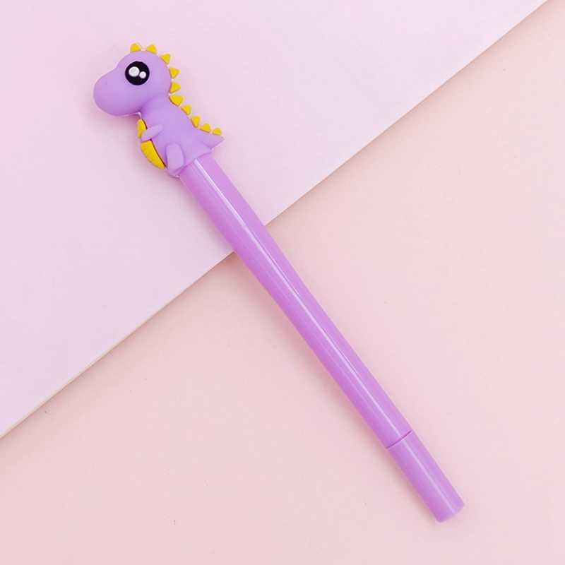 Creative เด็ก Unicorn ของเล่นส่องสว่างปากกาเรืองแสงใน Dark เจลปากกาเด็กไดโนเสาร์ของเล่นเรืองแสงเด็ก Shine ของเล่น