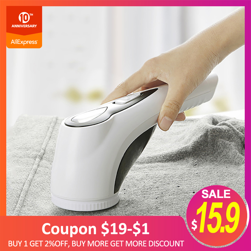 ZHIGAN M17 Electric Fabric Lint Remover Rechargeable Curtains Carpets Clothes Pilling Machine Fabric Razor Hair Ball Trimmer New