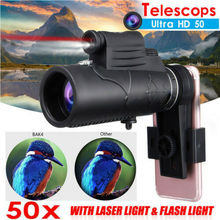 Hot Universal HD 50x Optical Telescope Camera Lens Zoom For Mobile Phone clip on 8x18 optical zoom mobile phone telescope lens hd telescope camera lens for universal mobile phone high quality