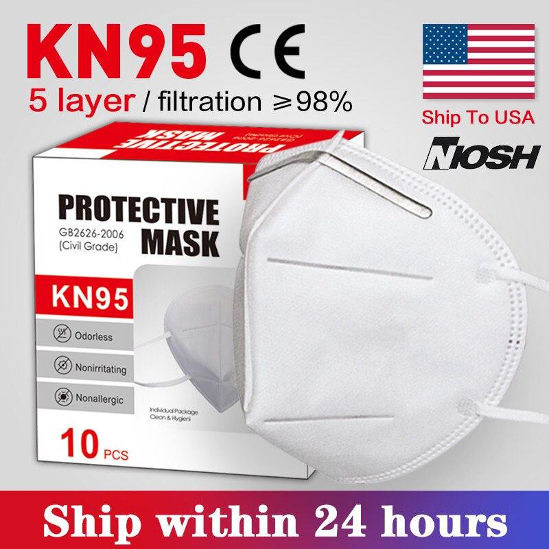 Masksn95-reusable Reusable Respirator Facemask Mascarillas N95-maskes Pm25 Women Men Face-mask-protective Ffp3mask-n95