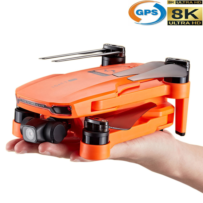 Profession GPS Drone With 4K Camer 2-axis Anti-shake Self-stabilizing Gimbal HD 5G WIFI FPV Brushless Quadcopter Support TF Card