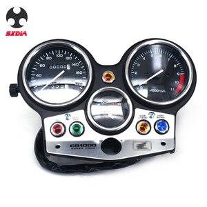 Image 1 - Motorrad Geschwindigkeit Meter Lcd computer geschwindigkeitsmesser grüne Tachometer Messgeräte Für HONDA CB1000 CB 1000 1994 1995 1996 1997 1998 180version