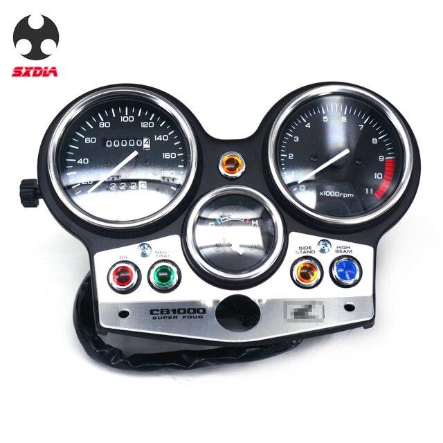 Motorrad Geschwindigkeit Meter Lcd computer geschwindigkeitsmesser grüne Tachometer Messgeräte Für HONDA CB1000 CB 1000 1994 1995 1996 1997 1998 180version
