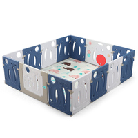 Environmental Playpen for Babys Childrens Kids Indoor Activity Gear Protection Barrier Game Corral Bebe Baby Furniture BE50BP
