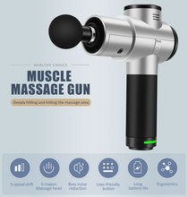 Massage Gun, Handheld Deep Tissue Massager for Pain Relief, Percussion Massage Device with Adjustable Speed Vibration Levels
