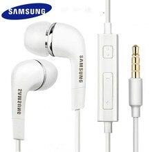 Original samsung ehs64 fones de ouvido com microfone embutido 3.5mm in-ear fones de ouvido com fio para galaxy s5 s6 s7 s8 s9 huawei telefone