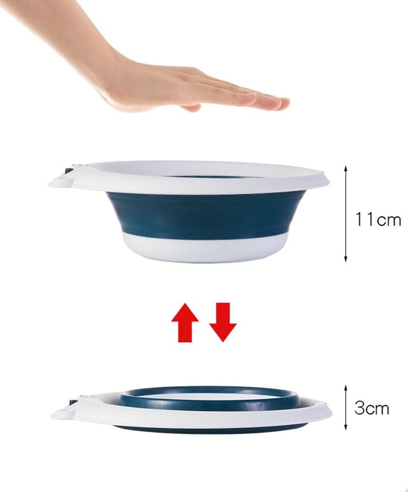 Infantil lavatório dobrável bacia portátil dobrável banheira