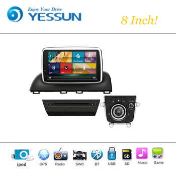 Car DVD Player Wince Android System For Mazda 3 Autoradio Car Radio Stereo GPS Navigation Multimedia Audio Video image