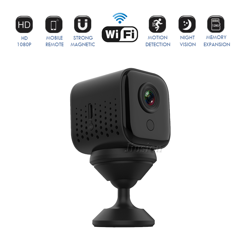 Full HD 1080P Mini WiFi IP Camera Night Vision Security Camaras Espia Oculta Home Safety Monitor Video Cam Micro DVR Camcorders image