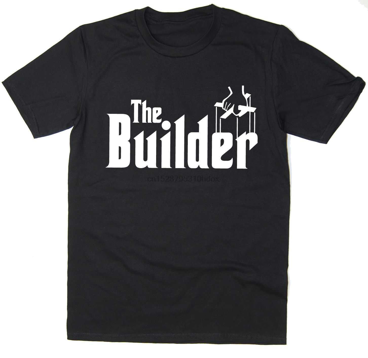 2020 gran oferta envío gratis The Builder-divertida camiseta-parodia de padrino-muchos colores