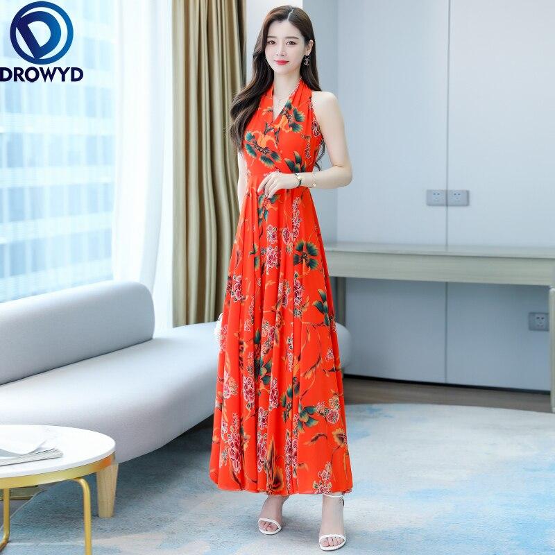 2021 женская летняя обувь повседневная плинтованная футболка, Т-миди платье с коротким рукавом и v-образным вырезом, удлиненная плиссированна...