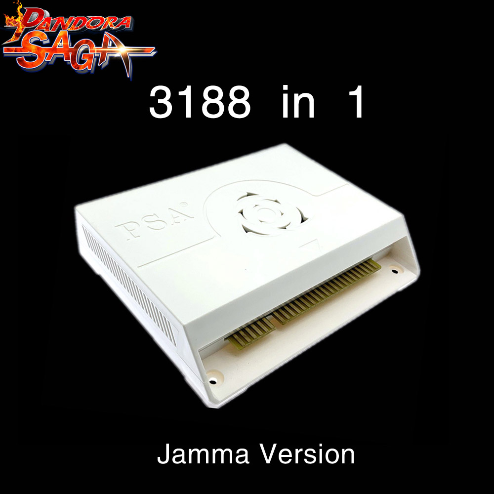 3188 In 1 Pandora Saga Box 12 Arcade Version Jamma Board PCB Joystick Machine Arcade Cabinet Coin-operated Video Games HDMI VGA
