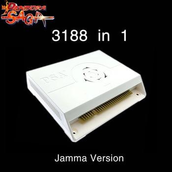 3188 In 1 Pandora Saga box 12 Arcade Version Jamma Board PCB Joystick Machine Arcade Cabinet Coin-operated video games HDMI VGA large arcade fighting game machine in video games tekken tag tournament 2 ps3