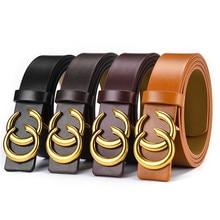 Fashion Designer Belts for Women Men Luxury Leather Waist Belt